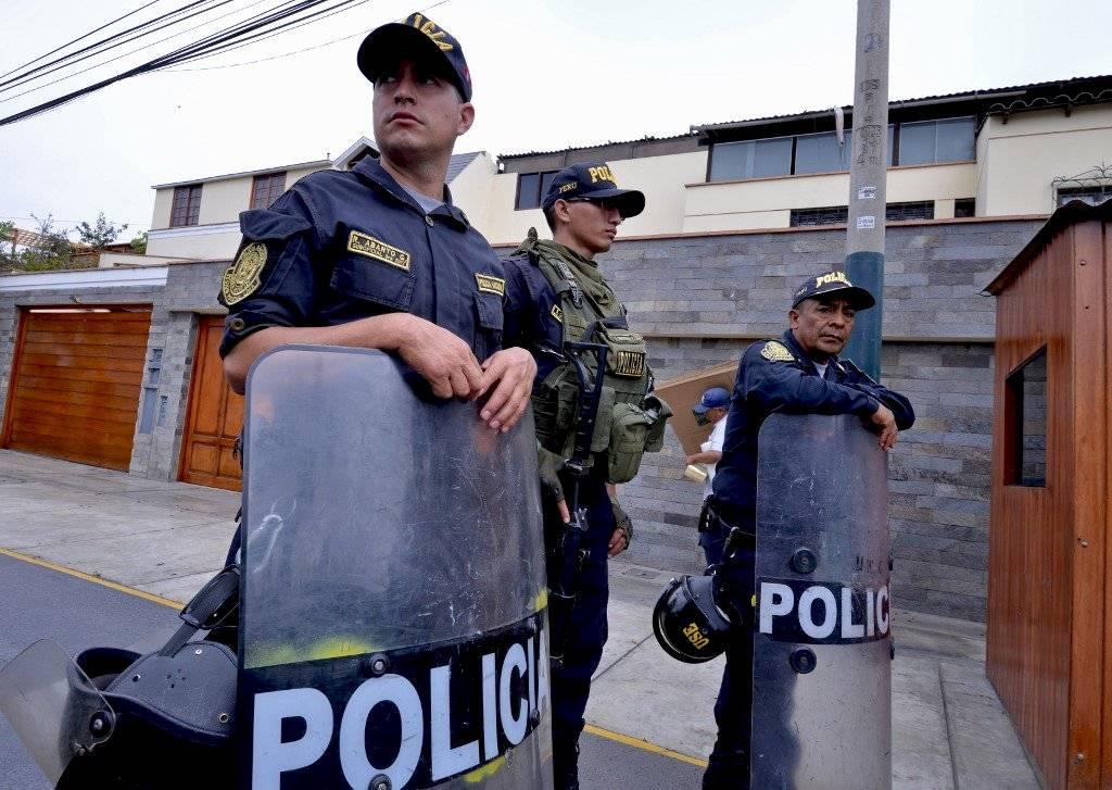 Allanamiento en casa de Ollanta Humala