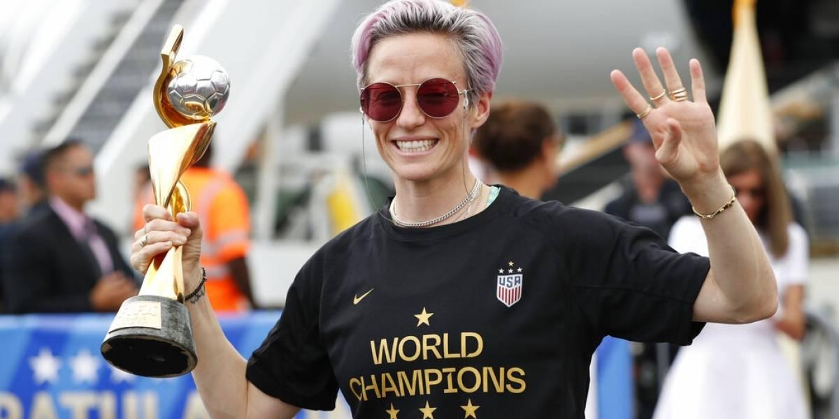 Estados Unidos regresa con la Copa del Mundo a casa