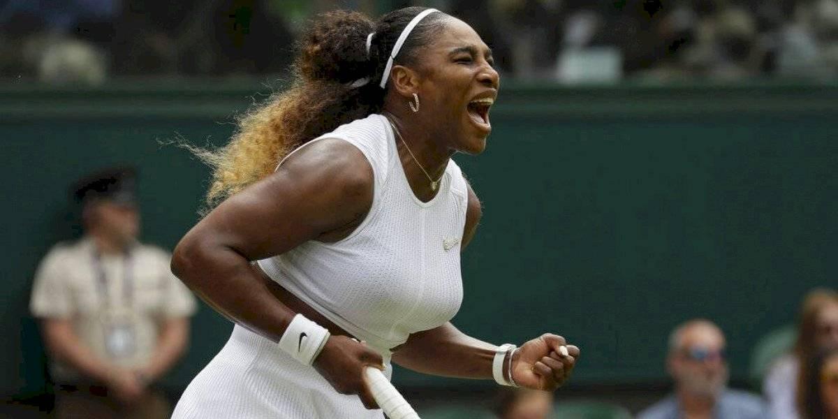 Serena Williams supera a Alison Riske en Wimbledon 2019