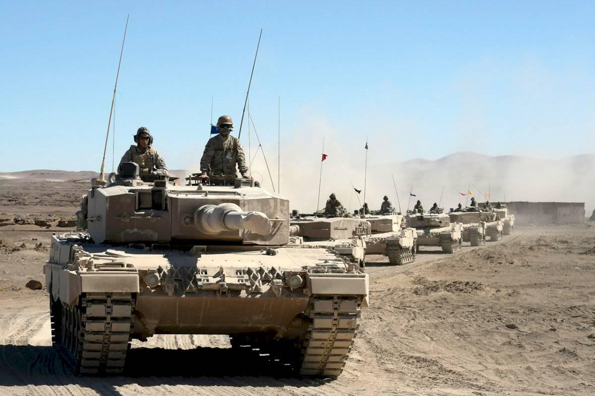 Ejército desierto