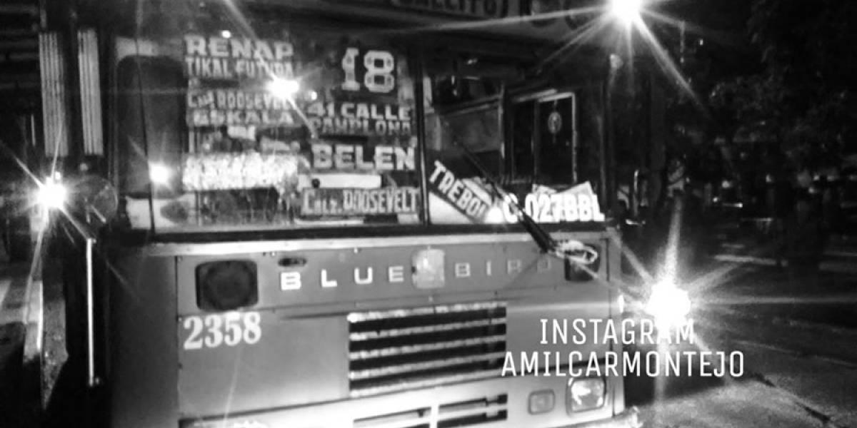 Agente de seguridad privada muere en interior de bus tras ser atacado a balazos