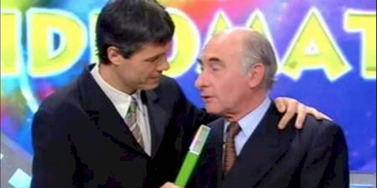 El principio del fin de De la Rúa fue en la tele con Tinelli y el Oso Arturo