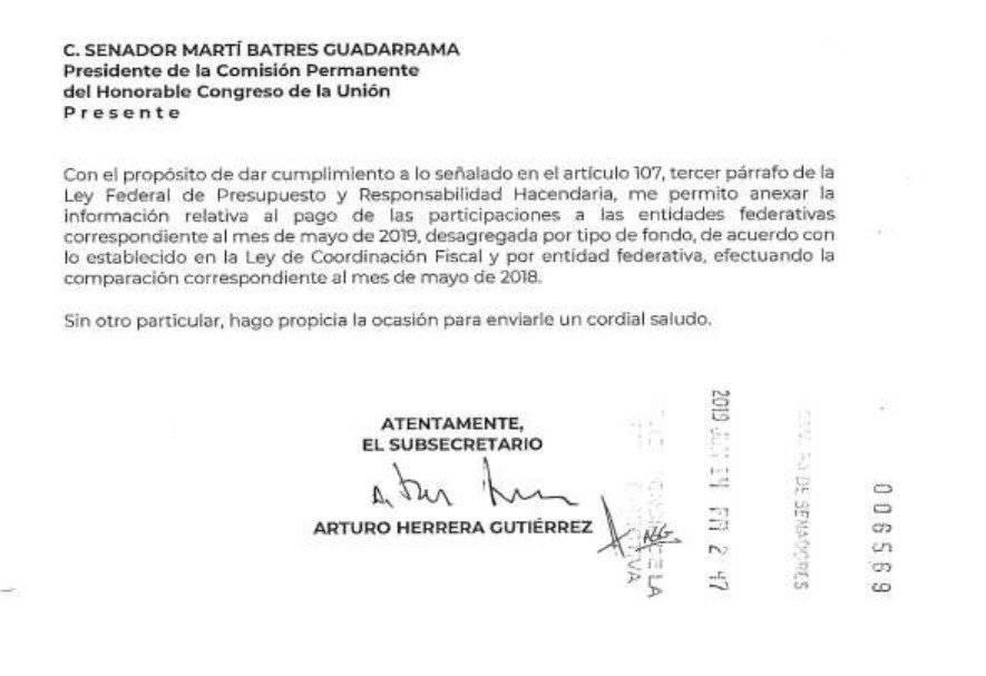 Firma de Arturo Herrera
