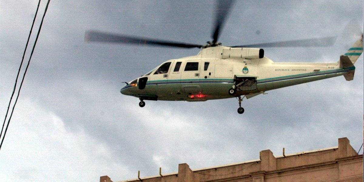 El corralito que terminó con De la Rúa huyendo en helicóptero de la Casa Rosada