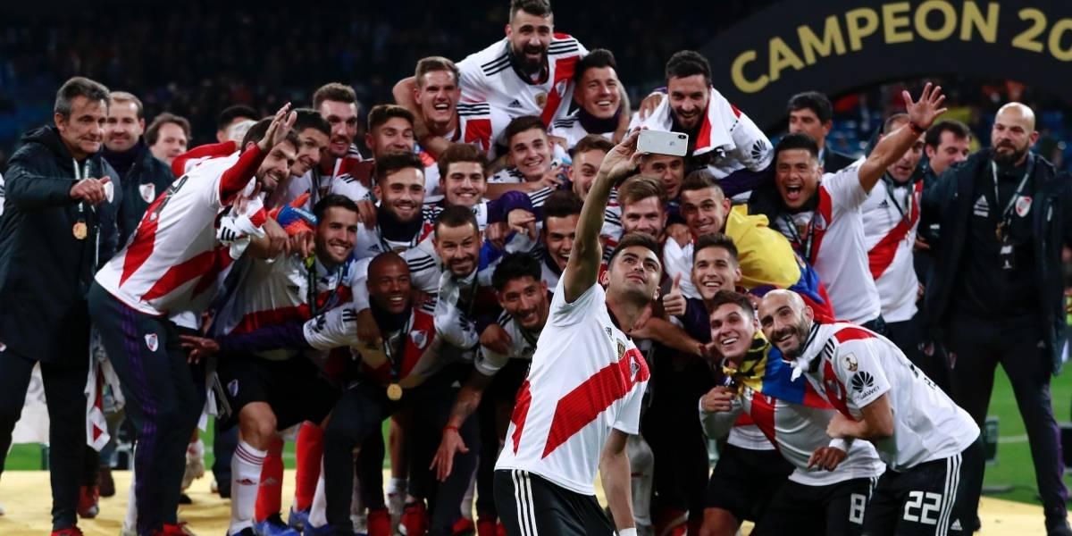 ¡Generaron risas! Equipo colombiano preguntó por un campeón de Libertadores con River Plate