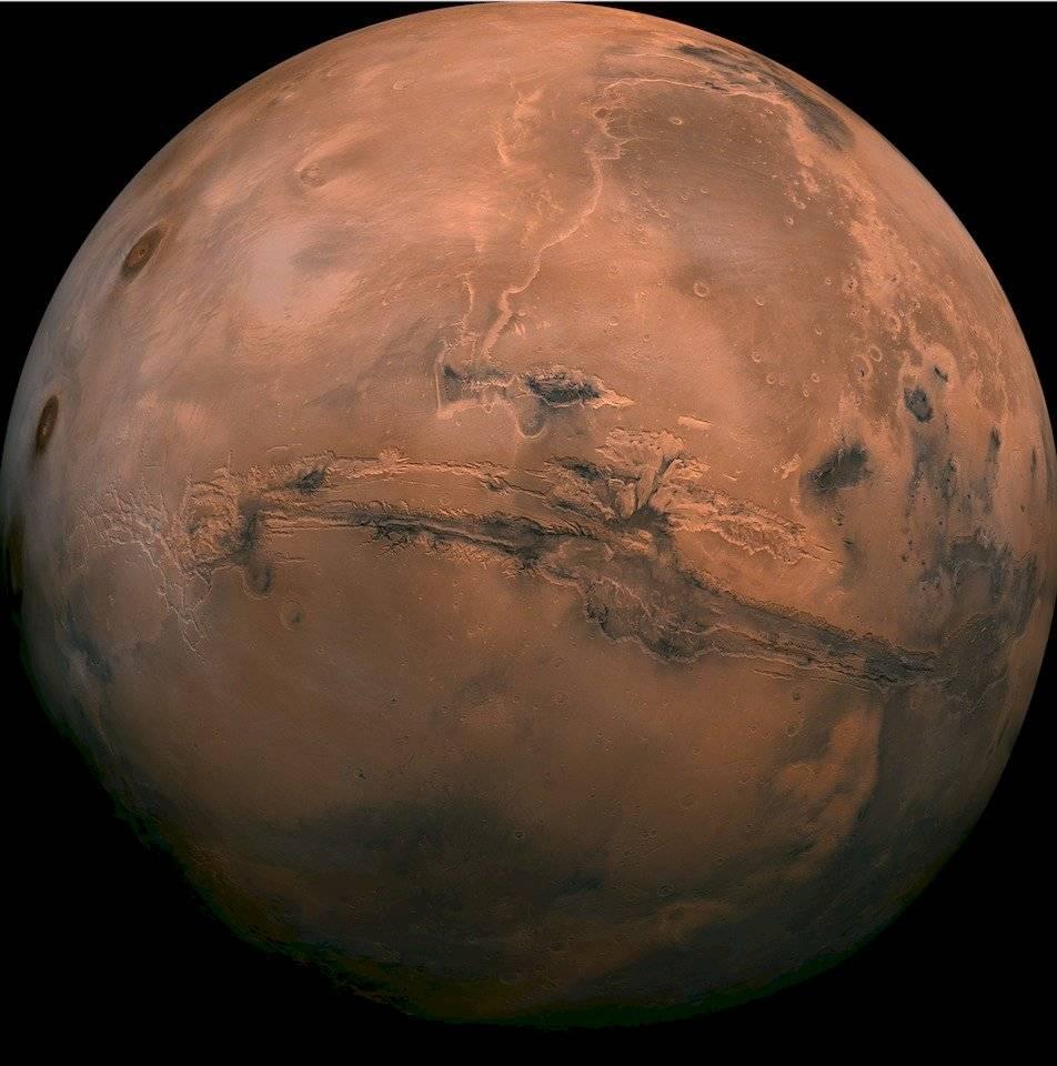 Gran Cañon de Marte
