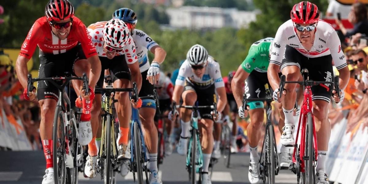 Elia Viviani se lleva 4ta. etapa del Tour