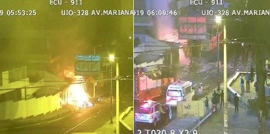 Incendio estructural en la Mariana de Jesús ECU 911