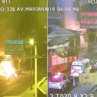 Incendio estructural en la Mariana de Jesús