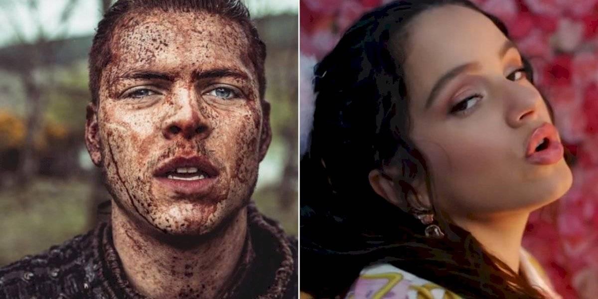 Vikings: Alex Høgh Andersen parabeniza cantora espanhola Rosalía no Instagram