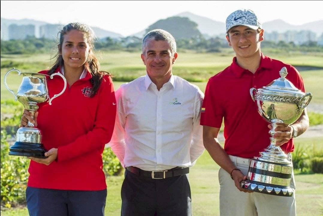 El ecuatoriano Felipe Garcés y la paraguaya María Fernanda Escauriza