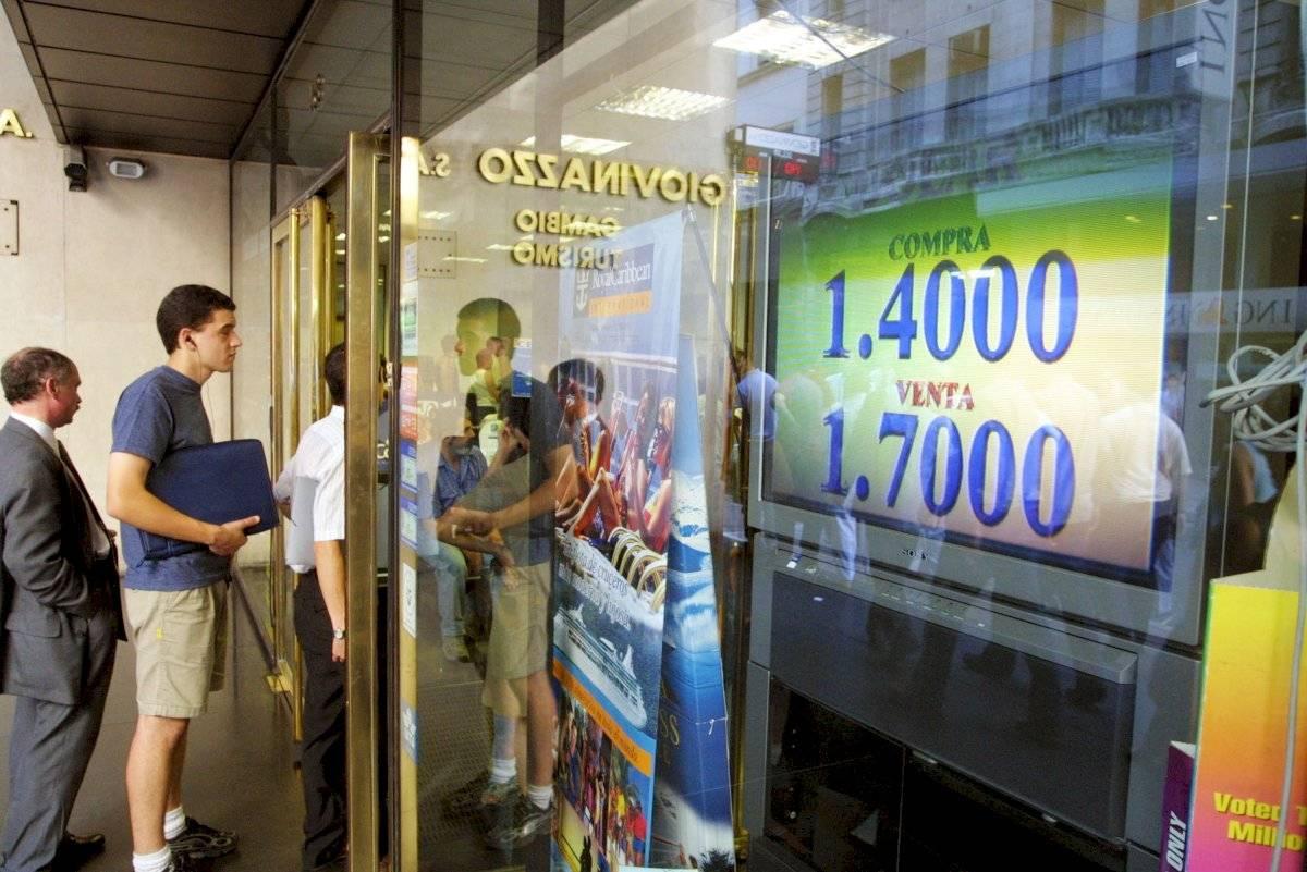 Caos en Argentina durante la crisis de 2001 Foto: Getty Images