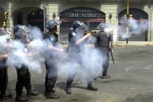 Caos en Argentina durante la crisis de 2001