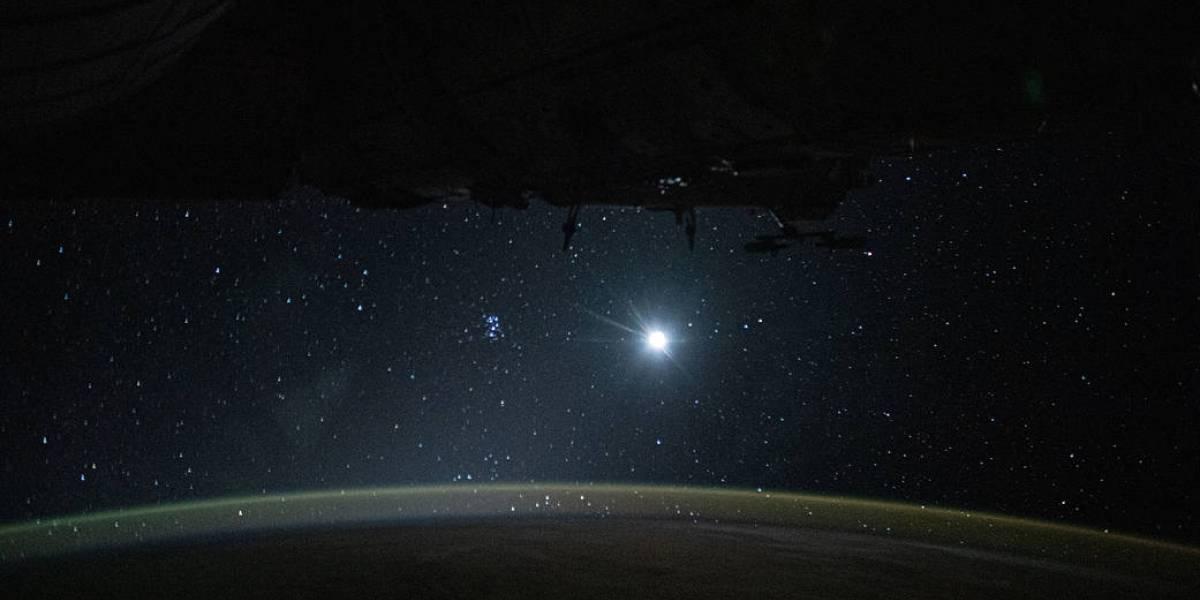 NASA divulga foto espectacular tirada desde a Estação Espacial Internacional