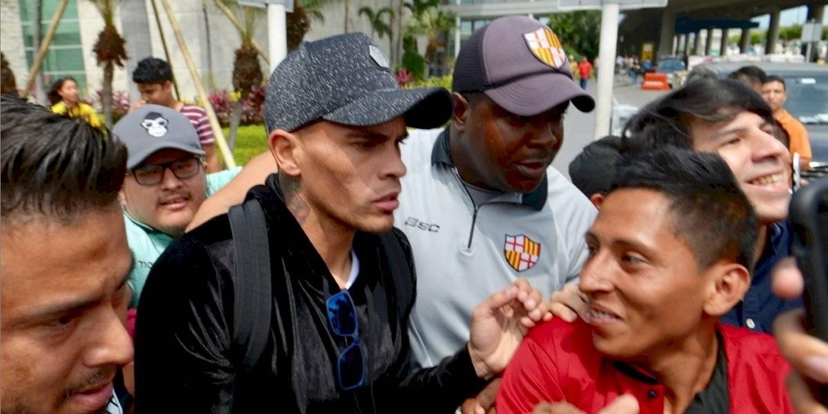 Jonathan Álvez llegó a Ecuador, estas son sus primeras declaraciones