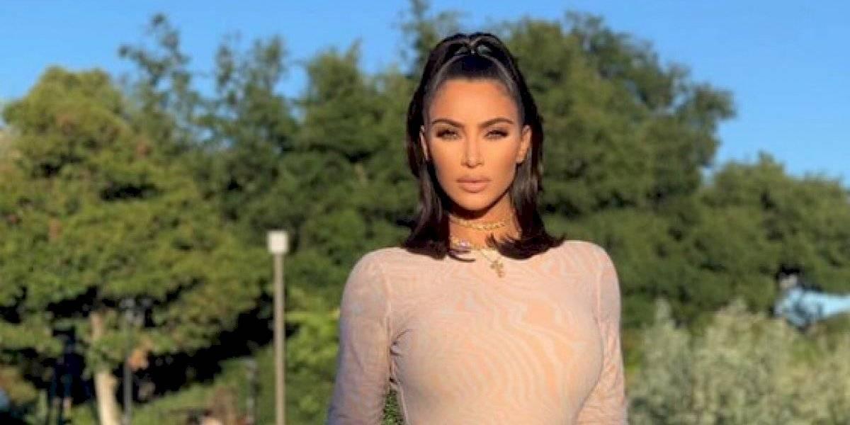 Kim Kardashian celebra sus 170 millones de fans con candente escote