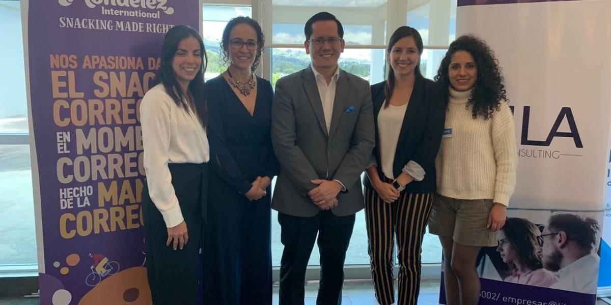 Mondelez Ecuador compartió sus experiencias de teletrabajo en el Lila Café
