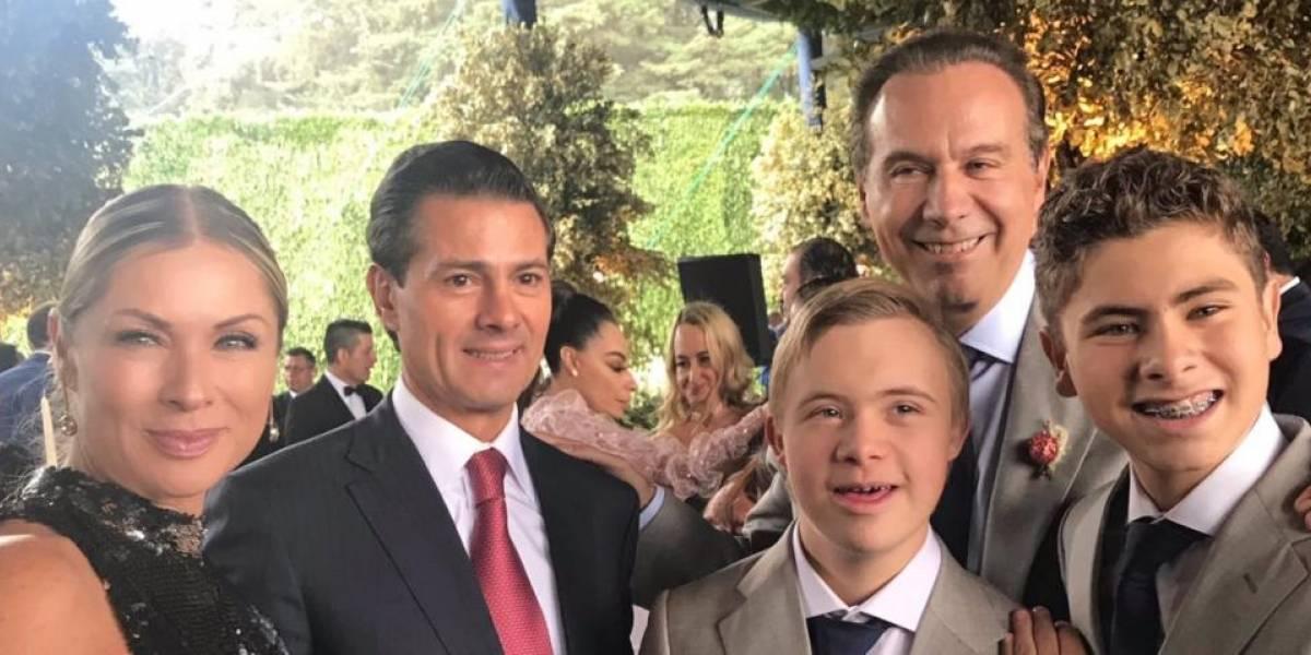 Boda de hija de Juan Collado reunió a celebridades y políticos