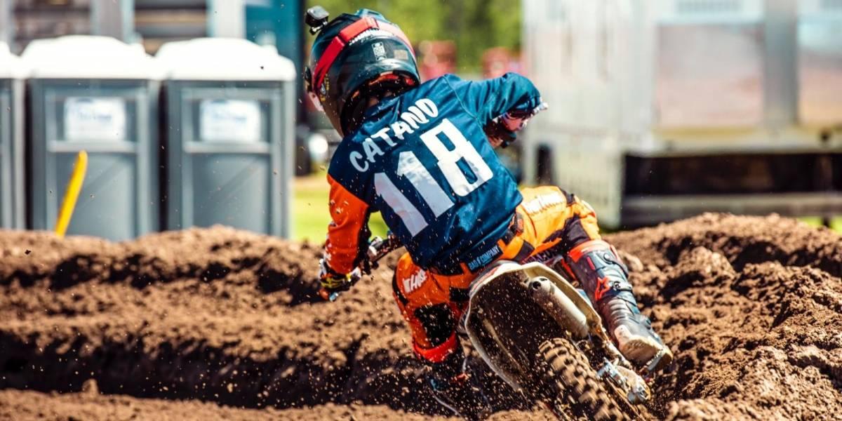 El niño colombiano que puede hacer historia en el motocross mundial