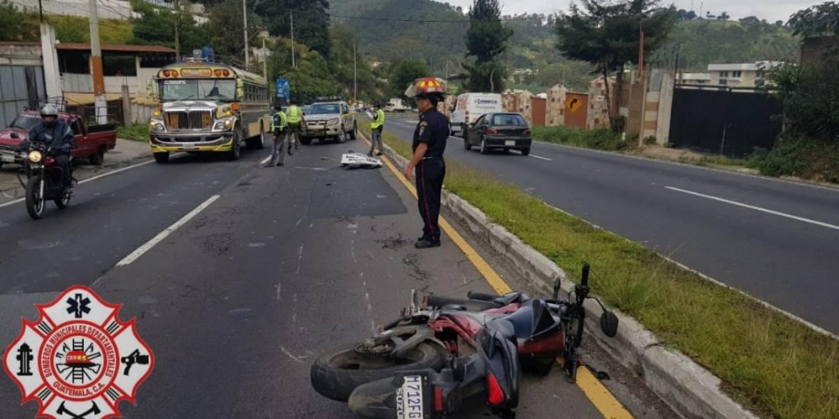 Un muerto y un herido por accidente de moto en ruta Interamericana