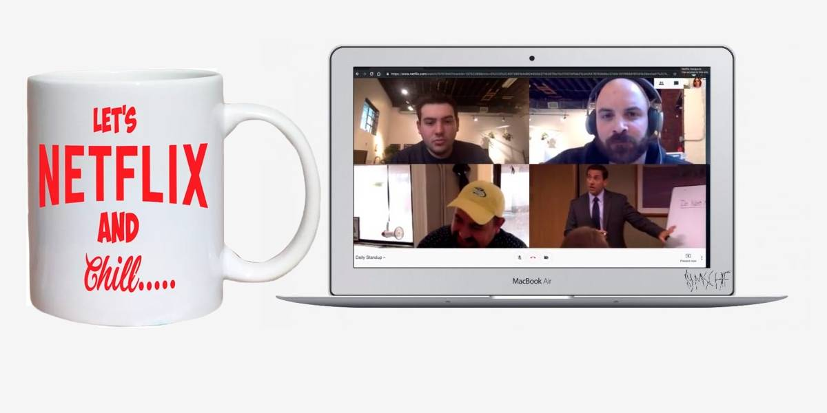 Netflix Hangouts: la extensión de Chrome que te deja ver series en la oficina