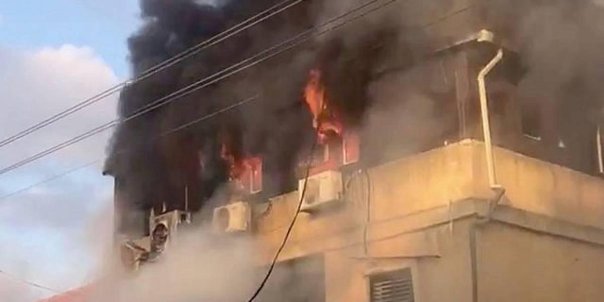 ¡Lamentable! Encontraron a 3 niños muertos tras un incendio en una casa