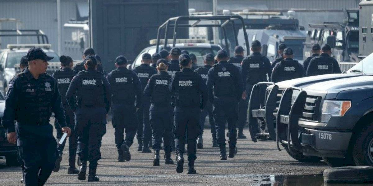 Policías federales inconformes piden ser incluidos en mesa de negociación
