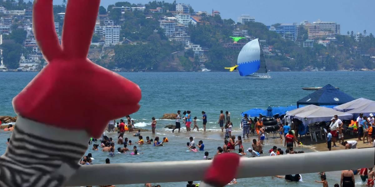 Playas de Acapulco contienen grandes cantidades de bacteria fecal