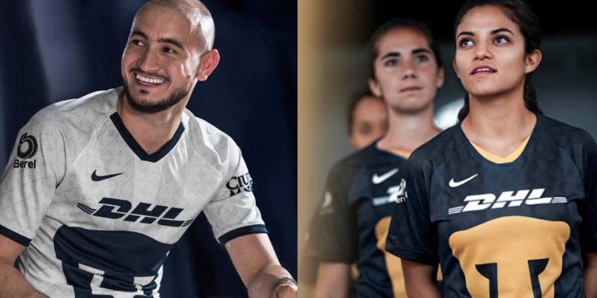 Pumas presenta su uniforme para la temporada 2019-2020