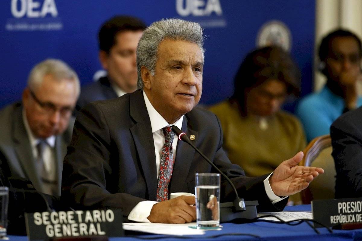Lenín Moreno, presidente de Ecuador AP