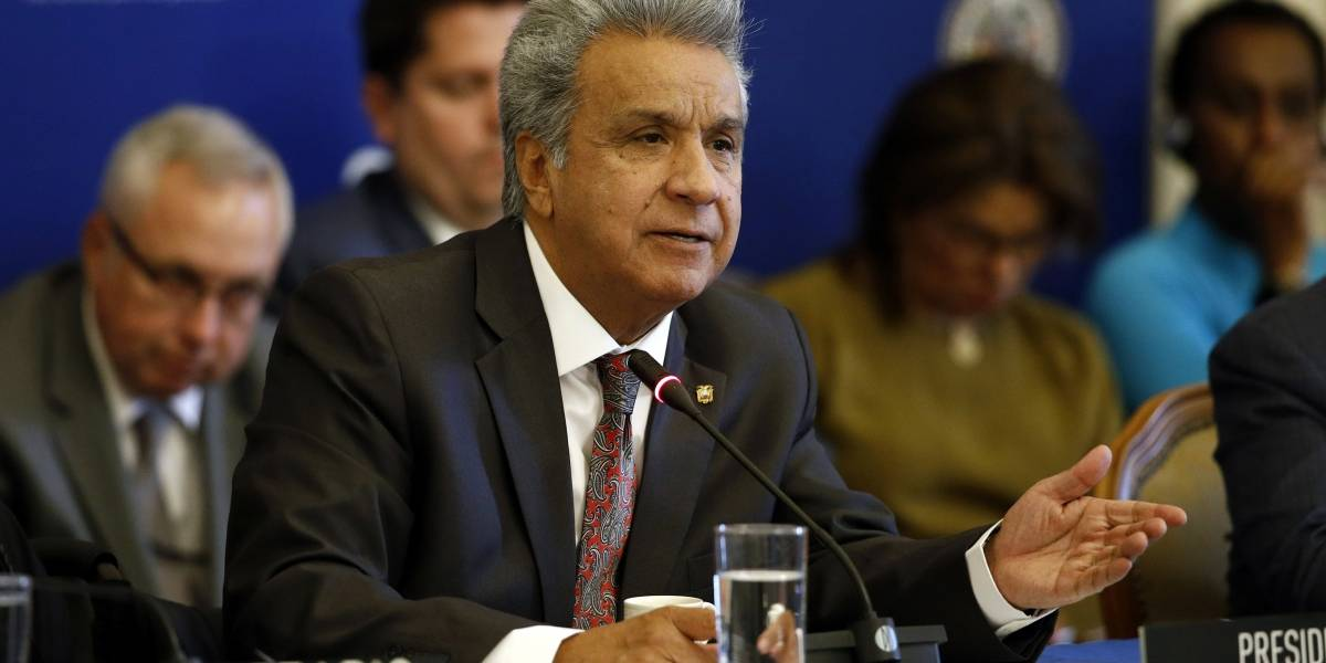 Lenín Moreno dice que aún pueden recibir venezolanos pero que todo tiene un límite