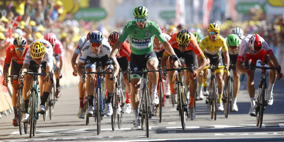 Tour de Francia: Peter Sagan saca a relucir su categoría y velocidad para llevarse la quinta etapa