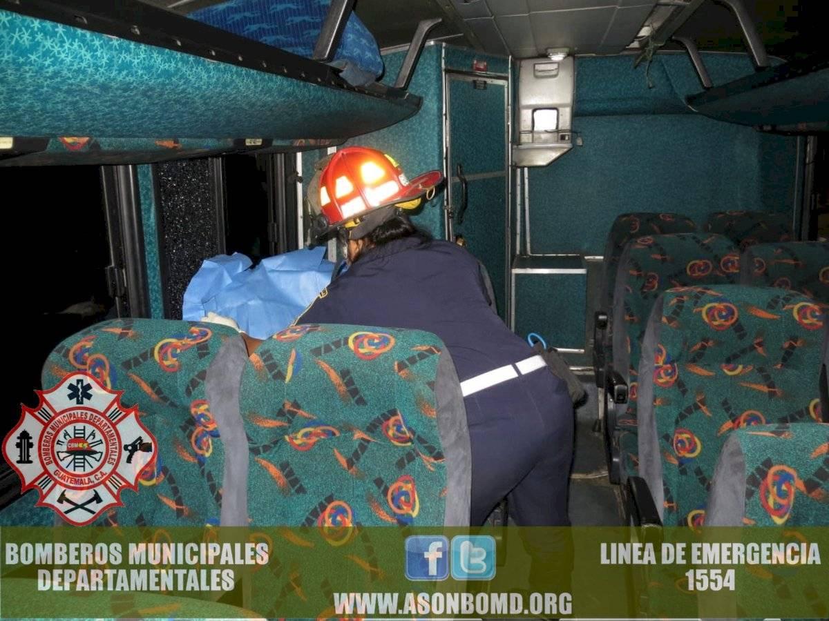 asalto a bus en Río Hondo, Zacapa