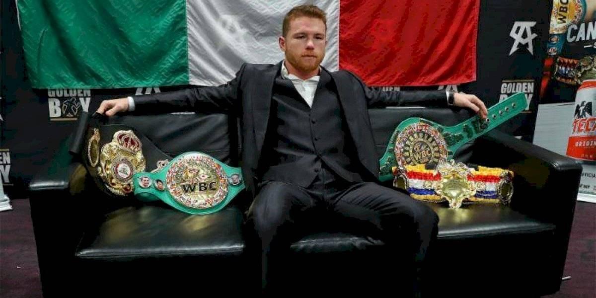 'Canelo' Álvarez gana premio ESPY a mejor boxeador del año