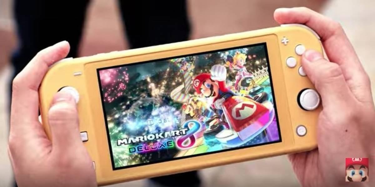 VIDEO. Nintendo anuncia nueva Switch más pequeña y barata
