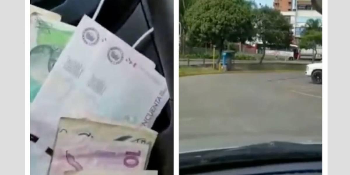 (VIDEO) Conductor de Uber presume sus ganancias gracias al paro de taxistas