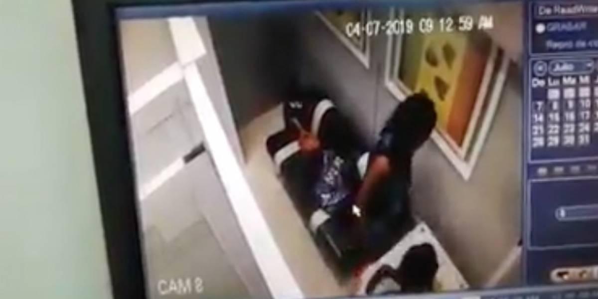 Empleada de aseo robó 180 millones de pesos usando a una niña