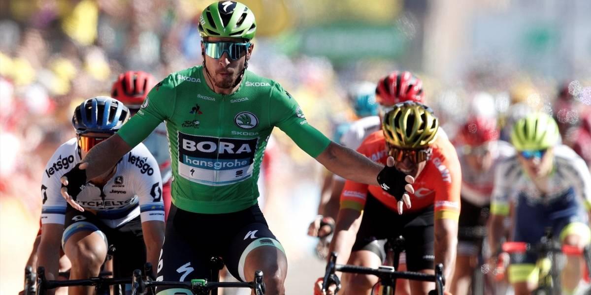 ¡Ni un poco de montaña detuvo a los sprinters! Peter Sagan ganó la etapa 5 del Tour de Francia