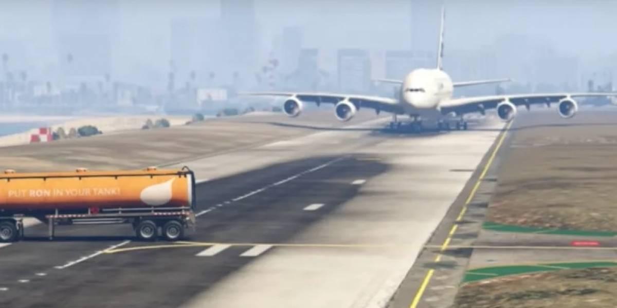 Avión iba a aterrizar y aparece un camión en plena pista: político felicita a piloto tras salvar la nave con increíble maniobra y se gana las burlas tras singular vuelco