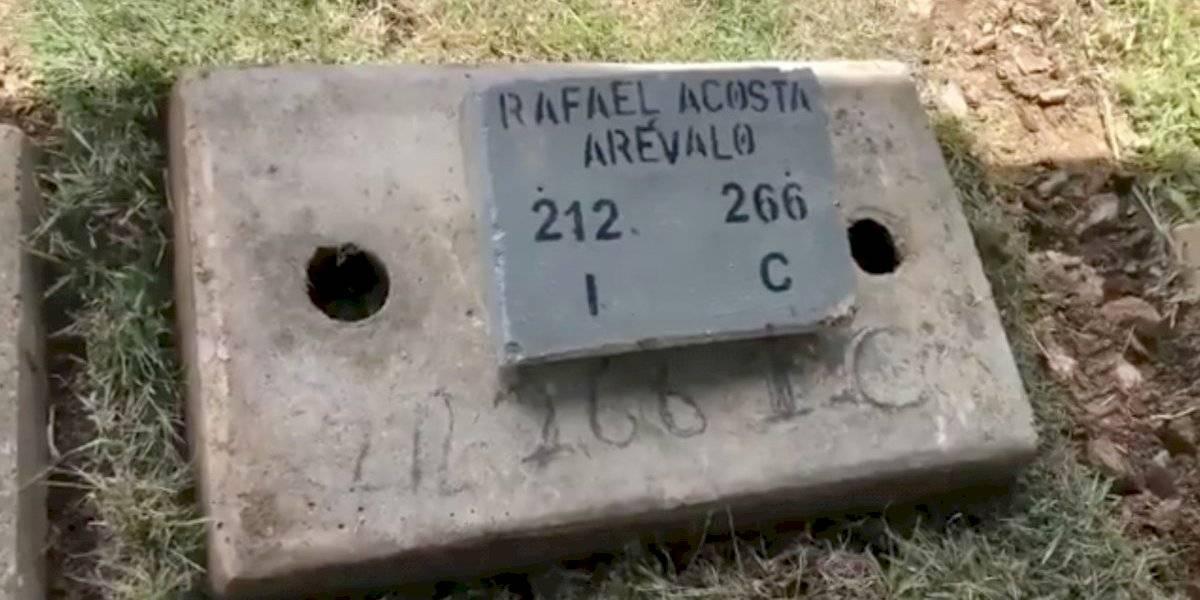 La dictadura de Venezuela sepultó a militar asesinado por torturas sin el consentimiento de su familia