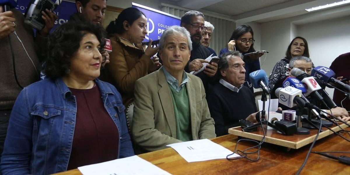 Paro de Profesores: bases deciden mantener la huelga y el viernes Colegio convoca una asamblea nacional