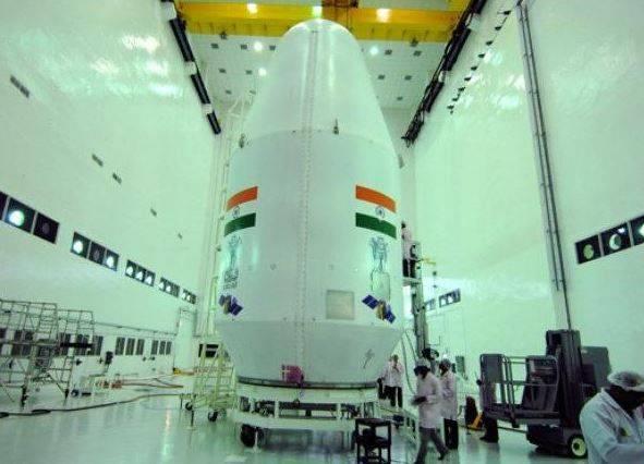 La nave india Chandrayaan-2 se coloca en una órbita lunar