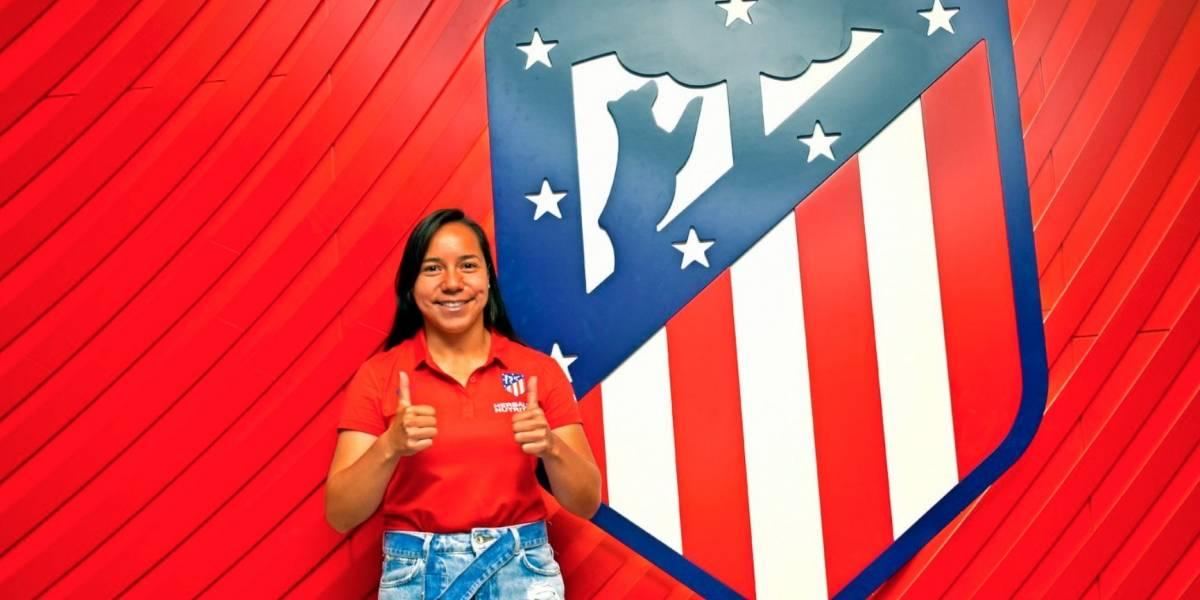 ¡Una mexicana más! Charlyn Corral es nueva jugadora del Atleti