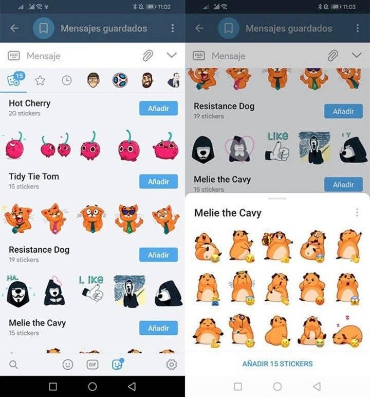 Telegram le gana a WhatsApp: Estos son los nuevos stickers que los usuarios están amando