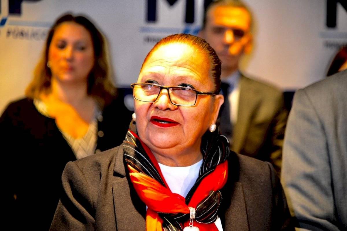 Consuelo Porras, jefa del MP. Foto: Herlindo Zet