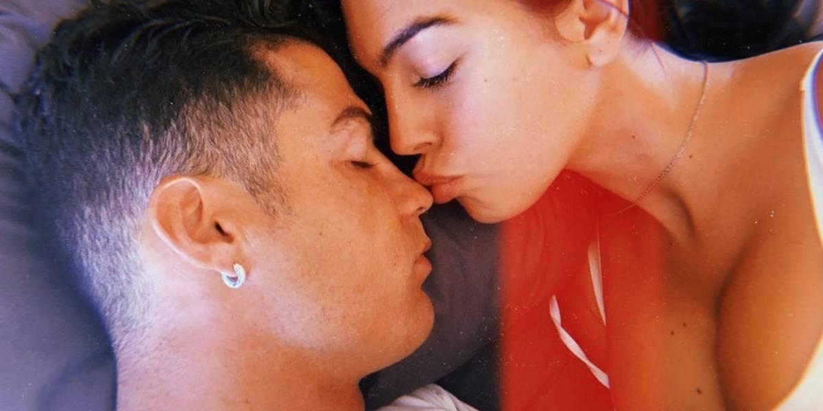 El momento romántico que compartió Georgina Rodríguez con CR7