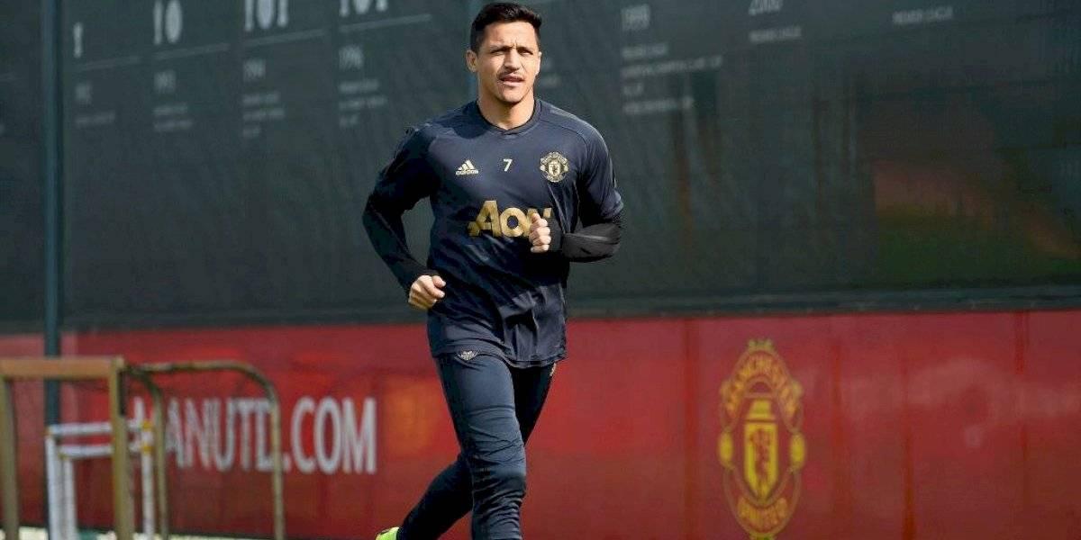 """Solskjaer preocupado por Sánchez: """"Espero que Alexis llegue en forma para jugar y entrenar de inmediato"""""""