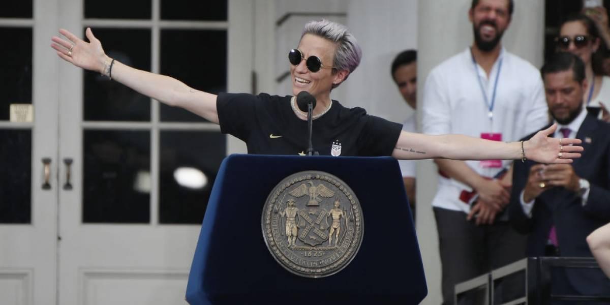 Megan Rapinoe vuelve a la carga contra Trump y le lanza nuevos dardos tras ganar el Mundial femenino