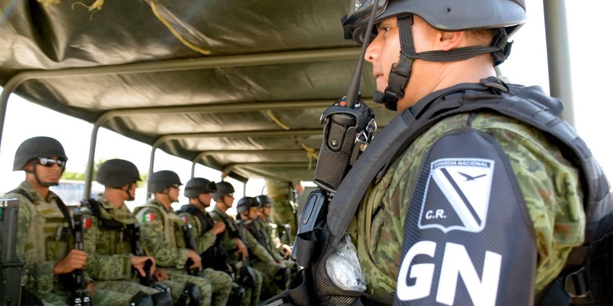 Llegan a Zacatecas mil 100 elementos de la Guardia Nacional