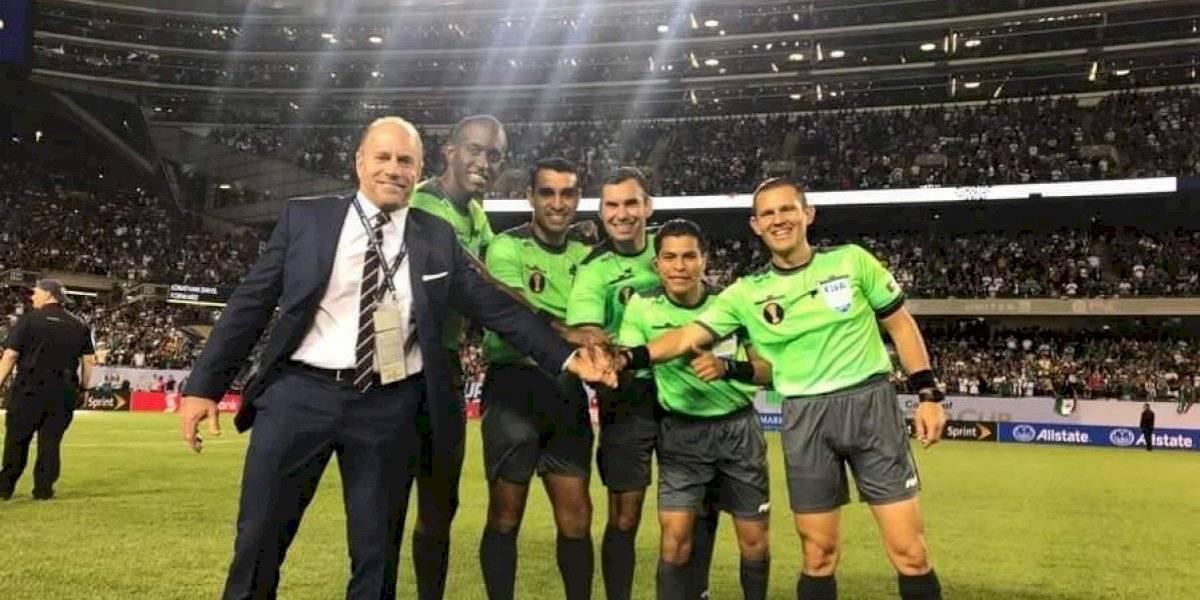 Árbitro guatemalteco podría ser destituido por haber participado en la Copa Oro